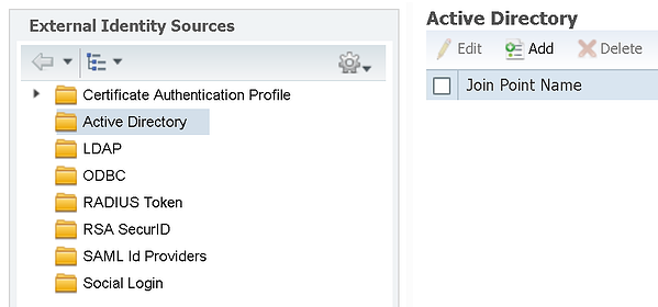 Cisco ISE - Active Directory and EAP Certificate