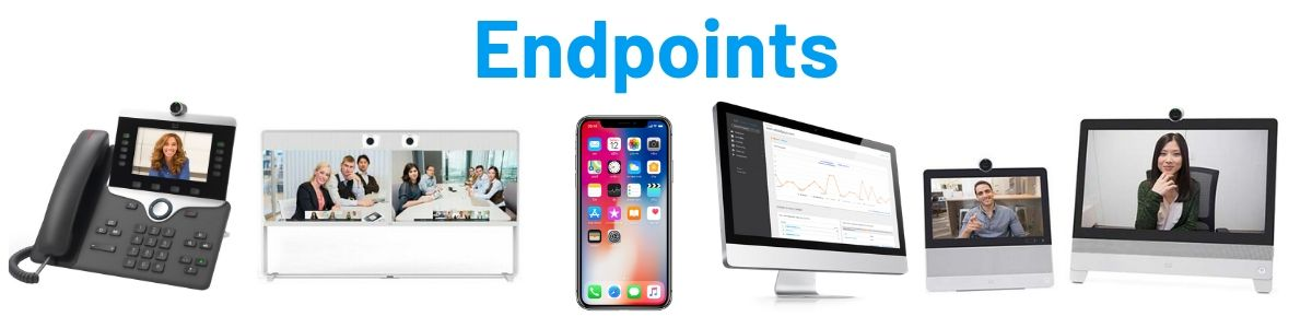 Endpoints video collaboration