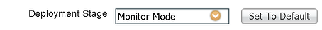 ISE 802.1X Deployment Monitor Mode Deployment Stage