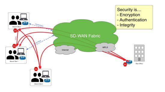 Viptela SDWAN architecture