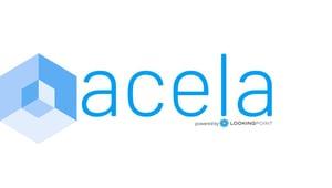 blue acela logo