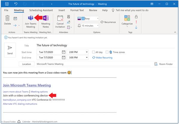 Cisco Video Integration with Microsoft Teams