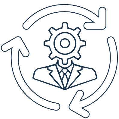 lifecycle adminstration icon