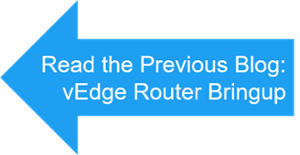 previous blog vedge router bring up