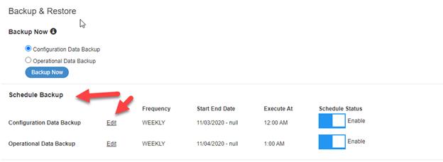 Cisco ISE Backup Procedure
